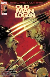 Secret Wars : Old Man Logan T2 : Terrain d'entente (0), comics chez Panini Comics de Burnham, Bendis, Guggenheim, Bennett, Culver, Di Giandomenico, Sorrentino, Norton, Villalobos, Maiolo, Woodard, Herring, FCO Plascencia