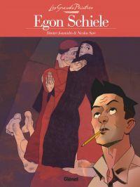 Egon Schiele : Le Cardinal et la nonne (0), bd chez Glénat de Joannidès, Sure