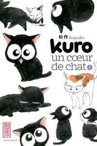 Kuro un coeur de chat T5, manga chez Kana de Sugisaku