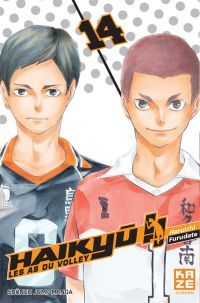 Haikyû, les as du volley T14, manga chez Kazé manga de Furudate