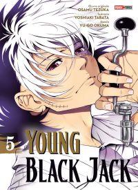 Young Black Jack T5, manga chez Panini Comics de Tezuka, Tabata, Okuma