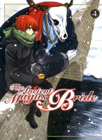 The ancient magus bride  T4, manga chez Komikku éditions de Yamazaki