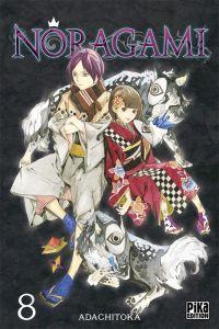 Noragami T8, manga chez Pika de Adachi