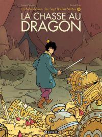 La Malédiction des sept boules vertes T4 : La Chasse au dragon, bd chez Paquet de Parcelier, Epié