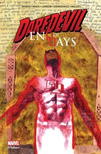 Daredevil - End of days, comics chez Panini Comics de Bendis, Mack, Maleev, Janson, Sienkiewicz, Hollingsworth
