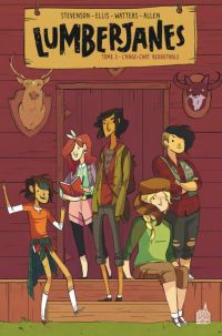 Lumberjanes T1 : L'ange-chat redoutable (0), comics chez Urban Comics de Ellis, Stevenson, Allen, Laiho