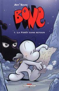 Bone – Edition couleur, T1 : La forêt sans retour (0), comics chez Delcourt de Smith, Hamaker