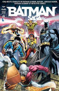 Batman Saga T45, comics chez Urban Comics de Andreyko, Marz, Wein, Cowan, Sienkiewicz, d' Anda, Rubinstein, Janson, Eltaeb, Serrano, Sotomayor, Kubert