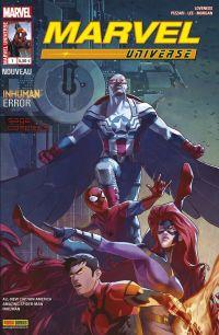 Marvel Universe T1 : Erreur inhumaine (0), comics chez Panini Comics de Loveness, Pizzari, Morgan, Lee, Woodard, Campbell