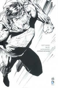 Superman Unchained : Black and white (0), comics chez Urban Comics de Snyder, Lee, Nguyen
