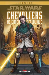 Star Wars - Chevaliers de l'ancienne République T5 : Sans pitié, comics chez Delcourt de Jackson Miller, Dazo, Atiyeh, Ching