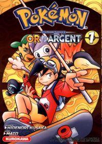 Pokémon Or et Argent T1 : , manga chez Kurokawa de Kusaka, Mato