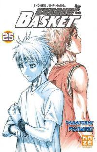 Kuroko's basket T25, manga chez Kazé manga de  Fujimaki