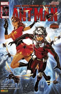 Ant-Man (revue) T4 : Les derniers jours (0), comics chez Panini Comics de Spencer, Scheer, Giovannetti, Pilgrim, Rosanas, Crystal, Gandini, Boyd, Wilson, Brooks