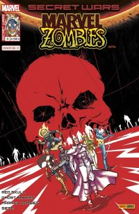 Secret Wars : Marvel Zombies T3 : Chasseurs (0), comics chez Panini Comics de Gillen, Smith, Williamson, Spurrier, Walker, Gedeon, Andrade, Pizzari, Rosenberg, Beredo, Bonvillain, Guru efx, Lashley, Rossmo