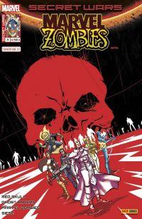 Secret Wars : Marvel Zombies T3 : Chasseurs (0), comics chez Panini Comics de Gillen, Smith, Williamson, Spurrier, Walker, Gedeon, Andrade, Pizzari, Rosenberg, Beredo, Bonvillain, Guru efx, Lashley, Rossmo