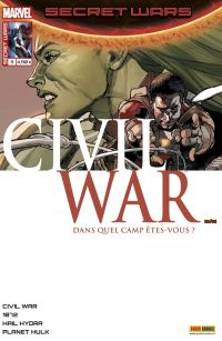 Secret Wars : Civil War T3 : Infiltration (0), comics chez Panini Comics de Remender, Humphries, Soule, Duggan, Boschi, Virella, Laming, Alanguilan, Yu, Loughridge, Gho, Chuckry, Boyd, Cheung