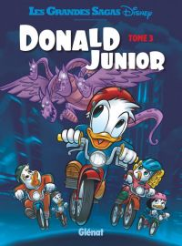 Donald Junior T3, bd chez Glénat de Collectif