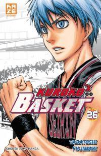 Kuroko's basket T26, manga chez Kazé manga de  Fujimaki