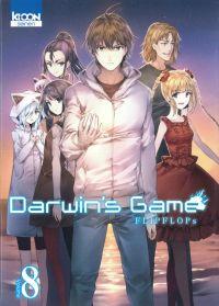 Darwin's game T8, manga chez Ki-oon de FLIPFLOPs
