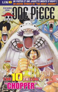 One Piece - Log Books T10 : Chopper - 2ème partie (0), manga chez Hachette de Oda