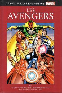 Marvel Comics : le meilleur des super-héros T1 : Les Avengers (0), comics chez Hachette de Busiek, Lee, Vey, Kirby, Perez, Ayers, Smith