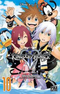 Kingdom hearts II T10, manga chez Pika de Shiro
