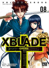 X-Blade Cross T8, manga chez Pika de Ida, Shiki