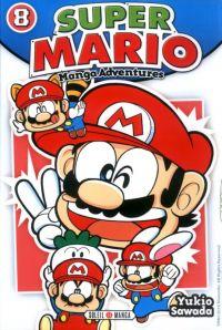Super Mario T8, manga chez Soleil de Sawada