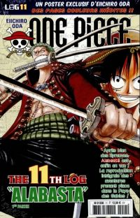 One Piece - Log Books T11 : Alabasta - 1ère partie (0), manga chez Hachette de Oda