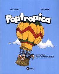 Poptropica : Le mystère de la carte magique (0), bd chez Bayard de Chabert, Merritt