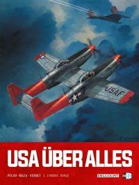 USA über alles T3 : L'Ombre rouge (0), bd chez Delcourt de Blanchard, Pécau, Vicanovic-Maza, Verney