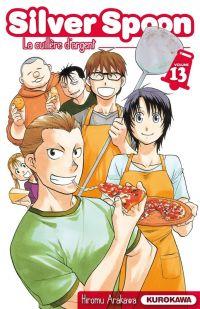 Silver spoon T13, manga chez Kurokawa de Arakawa