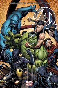 The New Avengers (vol.3) T4 : Un monde parfait (0), comics chez Panini Comics de Hickman, Larroca, Walker, Schiti, Martin jr, Mounts, Keown