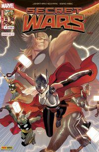 Secret Wars T4 : Le Roi des morts (0), comics chez Panini Comics de Hickman, Ribic, Svorcina, Renaud, Ross