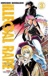 Illegal rare T3, manga chez Delcourt de Shiibashi