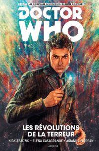 Doctor Who - Le Dixième Docteur T1 : Les révolution de la terreur (0), comics chez Akileos de Abadzis, Casagrande, Florean, Zhang
