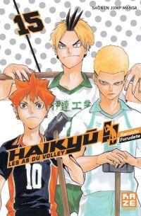 Haikyû, les as du volley T15, manga chez Kazé manga de Furudate