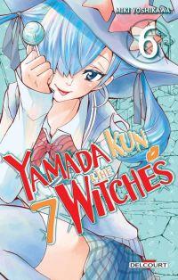 Yamada kun & the 7 witches T6, manga chez Delcourt de Yoshikawa