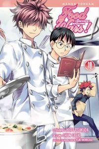 Food wars  T10, manga chez Tonkam de Tsukuda, Saeki