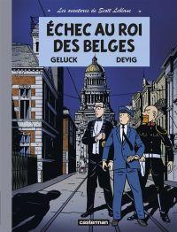 Les aventures de Scott Leblanc T4 : Tempête à l'OTAN, bd chez Casterman de Geluck, Devig, Paganotto