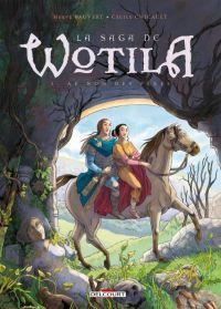 La Saga de Wotila T3 : Au nom des pères, bd chez Delcourt de Pauvert, Chicault