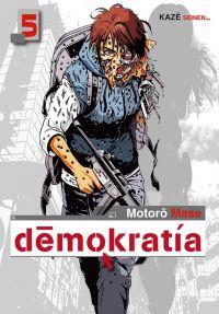 Demokratia T5, manga chez Kazé manga de Mase