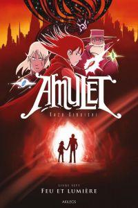 Amulet T7 : Feu et lumière, comics chez Akileos de Kibuishi