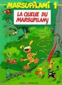 Marsupilami T1 : La queue du Marsupilami, bd chez Marsu Productions de Greg, Franquin, Batem, Léonardo