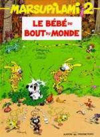 Marsupilami T2 : Le bébé du bout du monde (0), bd chez Marsu Productions de Franquin, Greg, Batem, Léonardo