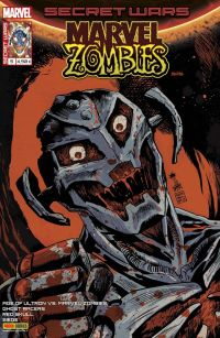 Secret Wars : Marvel Zombies T5 : Une alliance contre-nature (0), comics chez Panini Comics de Gillen, Robinson, Smith, Williamson, Sienkiewicz, Larraz, Choo, Andrade, Gedeon, Pugh, Rivoche, Pizzari, Bonvillain, Rauch, Rosenberg, Beredo, Herring, Charalampidis, Francavilla