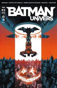 Batman Univers T2 : , comics chez Urban Comics de Seeley, Snyder, Buccellato, Gleason, King, Manapul, Stewart, Fletcher, Lacombe, Wyatt, Gray, Janin, Blanco, Capullo, Miki, Tarr, Cox, Lapointe, Kalisz, FCO Plascencia