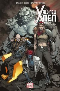 All-New X-Men T6 : Un de moins (0), comics chez Panini Comics de Bendis, Campbell, Bermejo, Pichelli, Del Carmen, Immonen, Jones, Timm, Mack, Rodriguez, Parker, Smith, Marquez, Wicks, Shiga, Thompson, Young, Hipp, Wittert, Adams, Williams, Bellaire, Ponsor, Wilson, Keith, Ruffino, Martin, Gracia