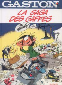 Gaston T17 : La saga des gaffes (0), bd chez Dupuis de Franquin, Léonardo